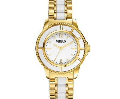 0729a1f09b7ee Versus Gold Ion-Plated Watch Versus by Versace Women s