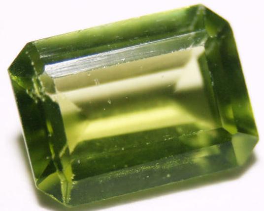 Emerald Cut Peridot