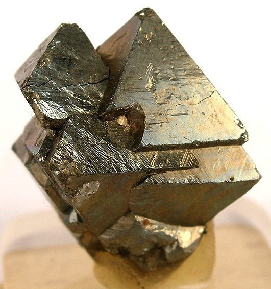 Pyrite Octahedron